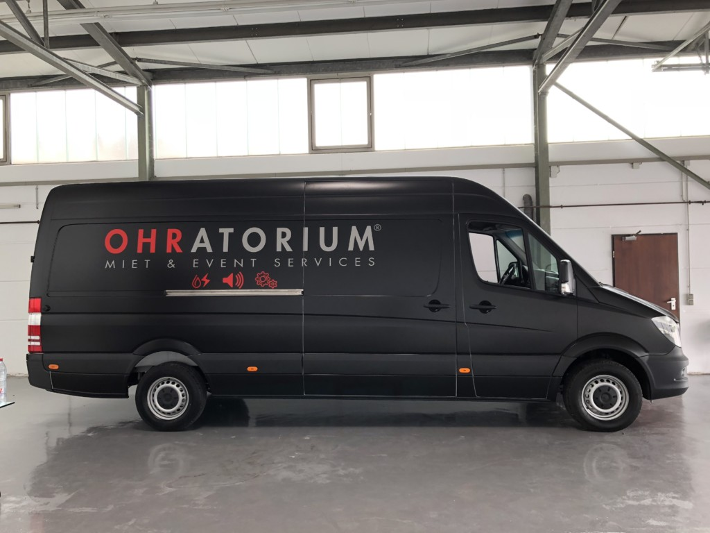 Mercedes Sprinter Avery Satin Black