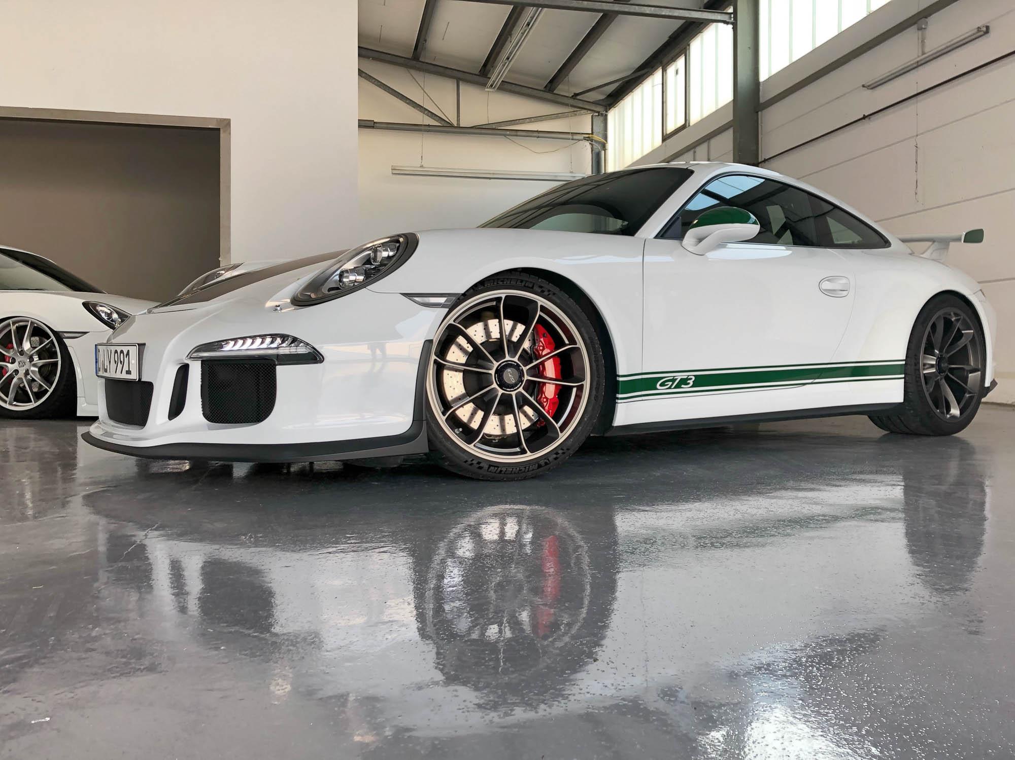 Teilfolierung Porsche