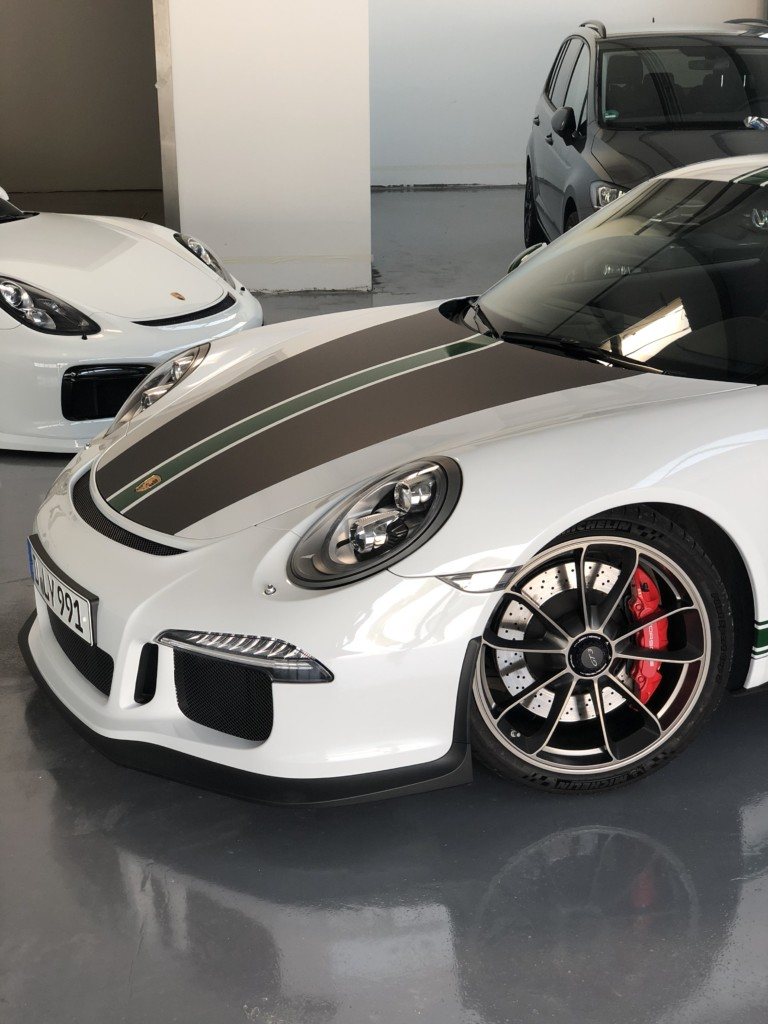 Autofolierung Porsche