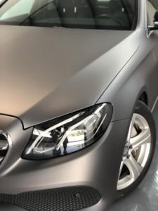 Mercedes E Klasse Avery charcoal matte metallic Autofolierung