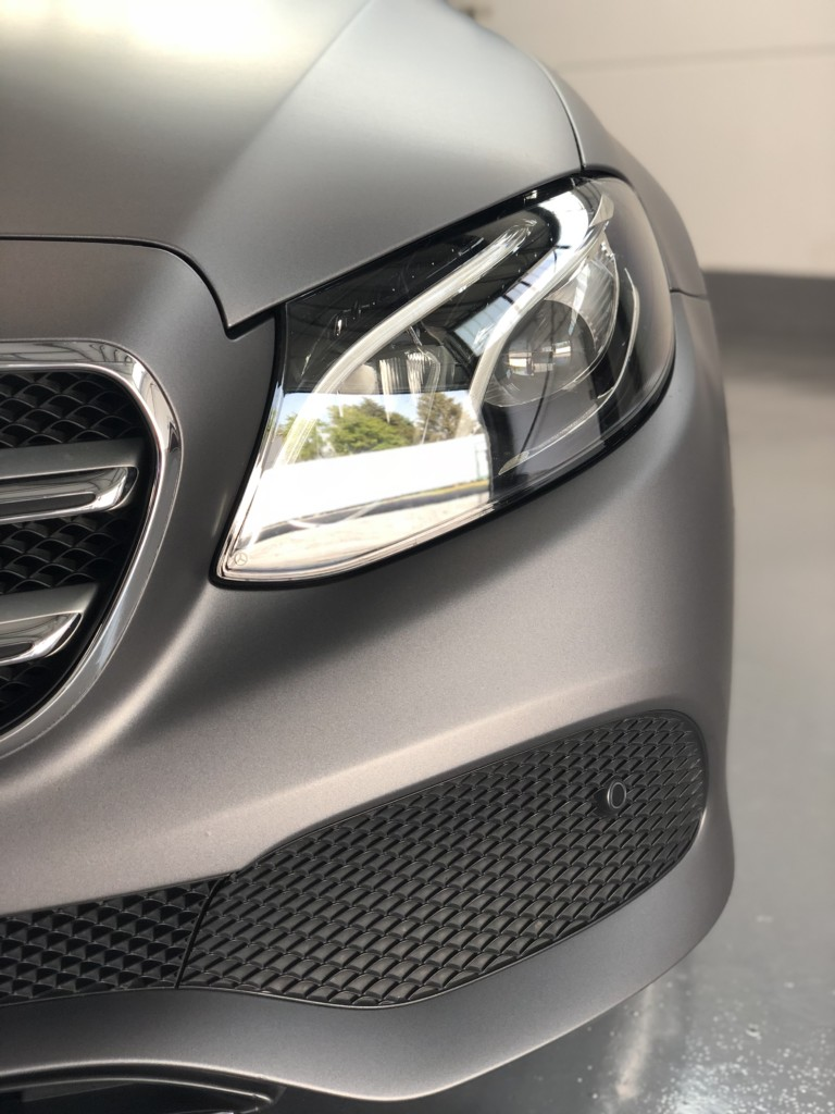 Mercedes E Klasse Avery charcoal matte metallic