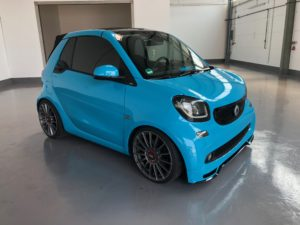 Smart for Two in Miami Blue