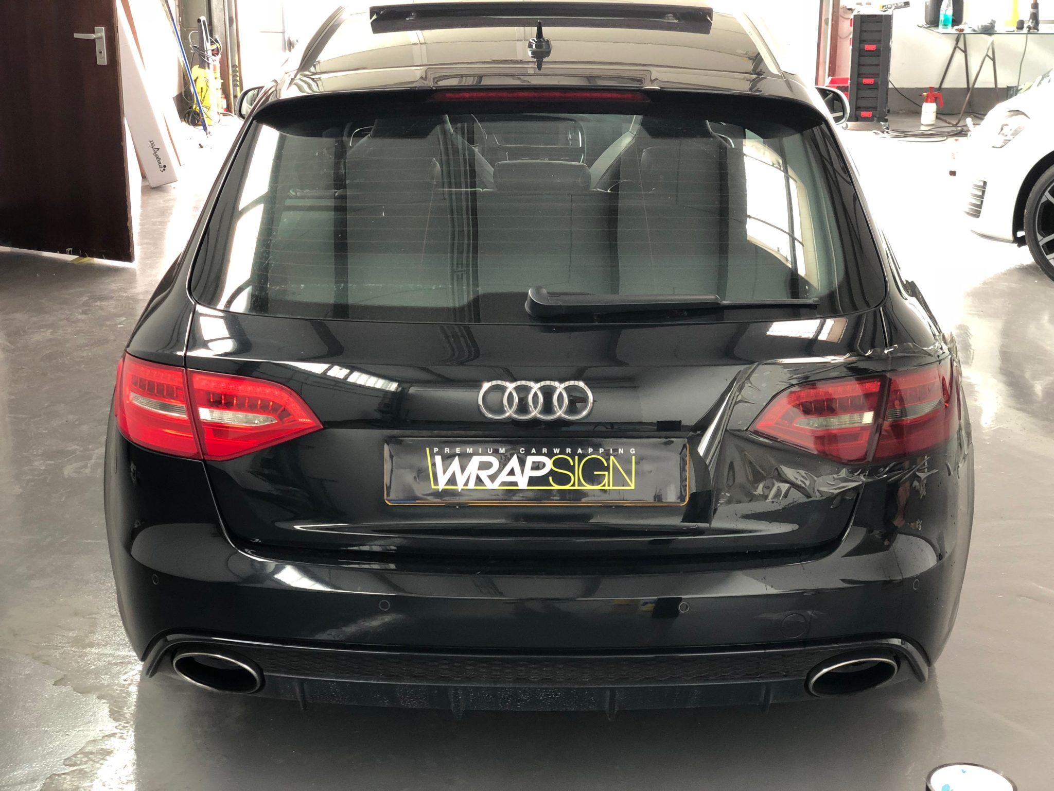 Rückleuchtentönung bei einem Audi A4