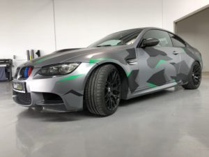 BMW M3 Performance in Camouflage