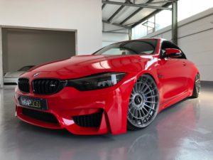 BMW M4 in Formvollendung