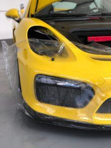Porsche Steinschlagschutz