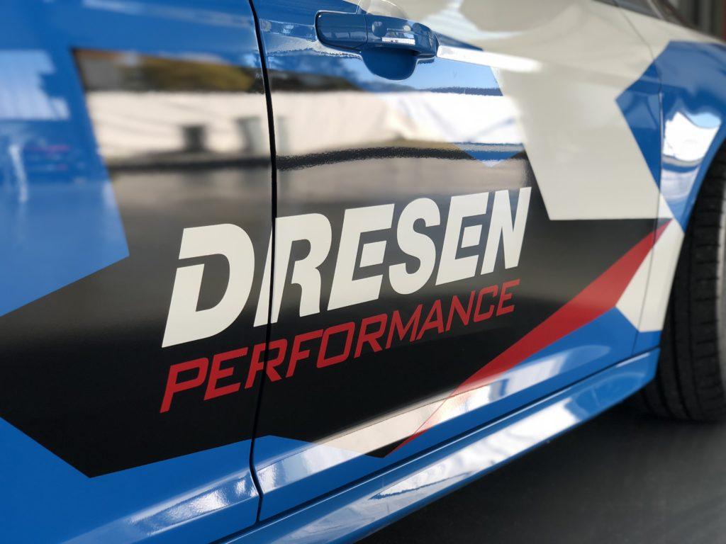 Ford Focus RS im Camouflage Design von Dresen Performance by Wrapsign