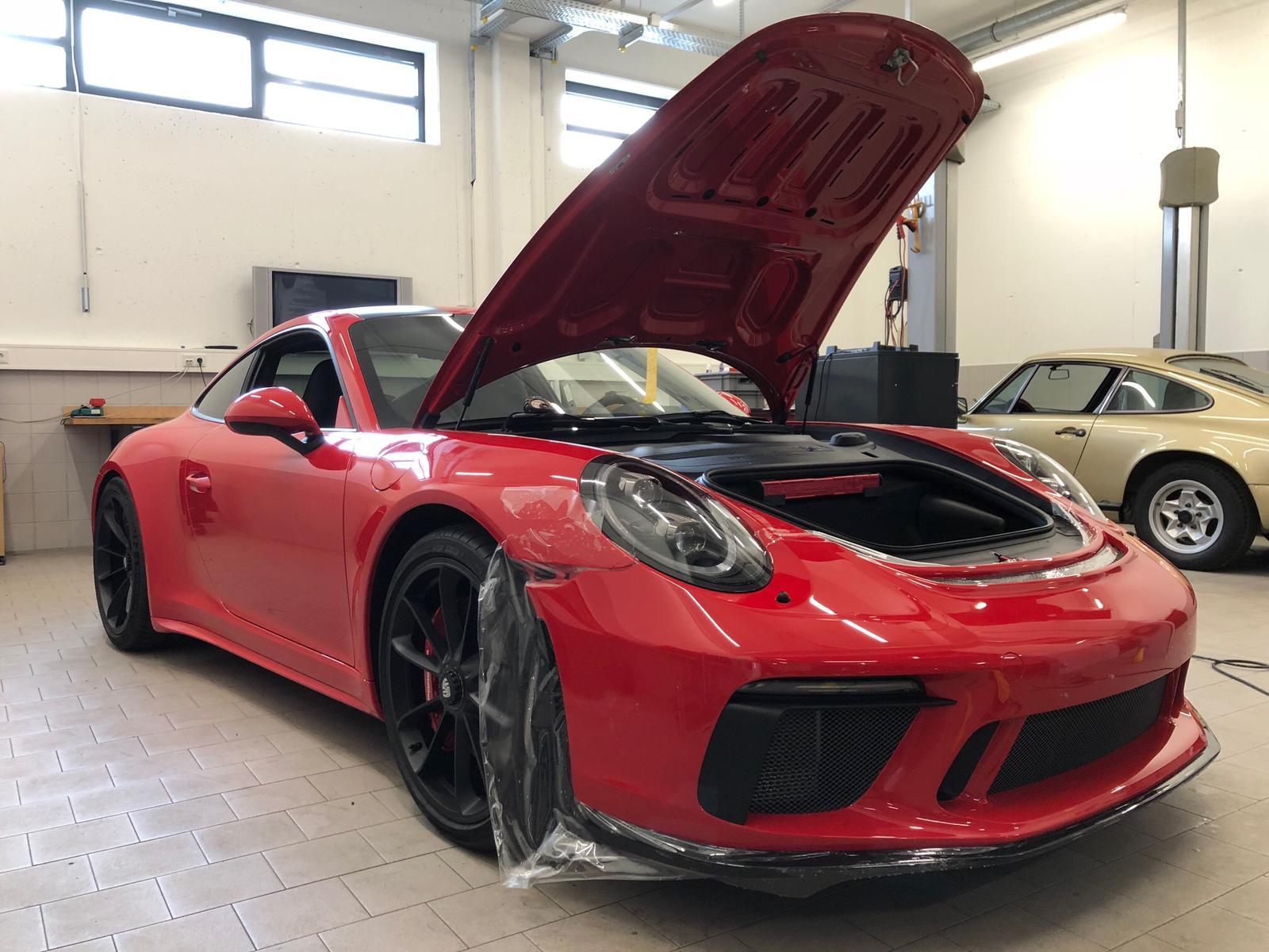 Porsche GT3 Touring Lackschutz