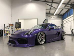 Porsche Folierung inkl. Türeinstiegen