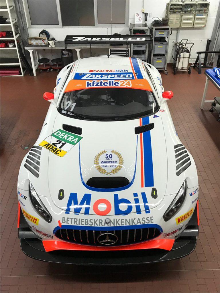 Zakspeed Mercedes GT3