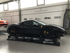 Ferrari 458 Lackschutz Vollfolierung Black