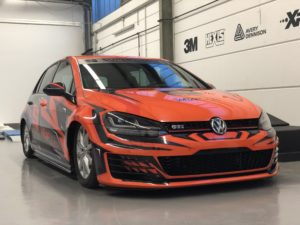 Golf 7 GTI Fuse Design Digitaldruck