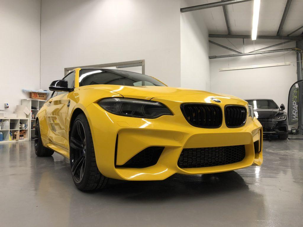 Vollfolierung BMW M2