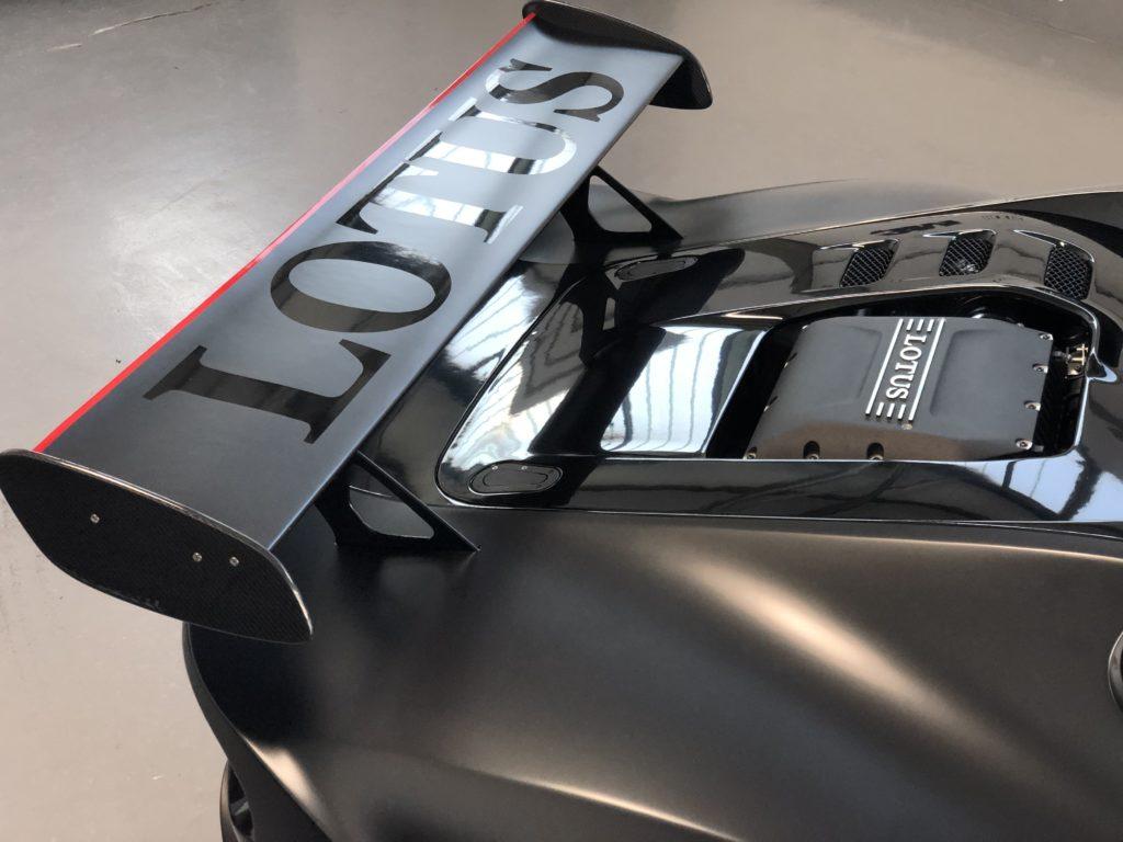 Lotus 311 Lackschutz Vollfolierung