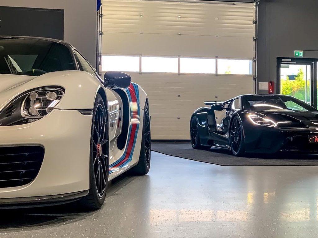 Lackschutz Porsche Spyder