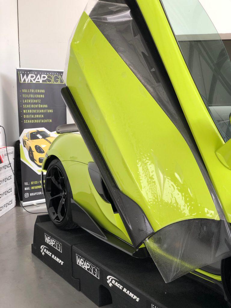 McLaren 600 LT Spider Lackschutz