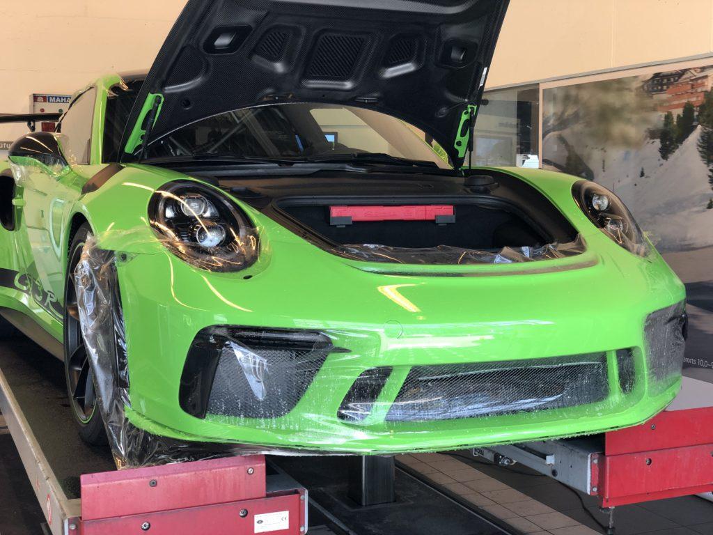 Porsche GT3 RS Weissach Lackschutz