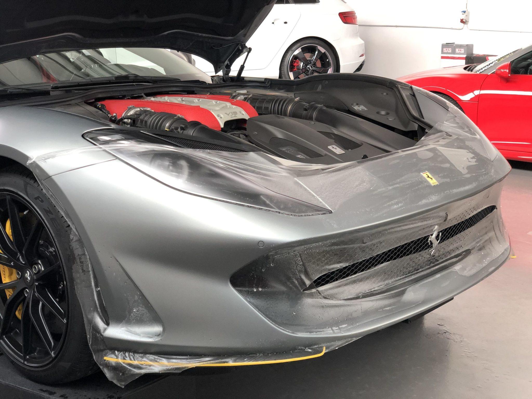 Ferrari 812 SF Steinschlagschutz