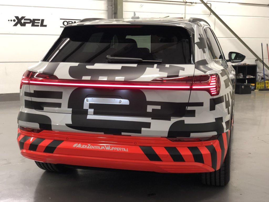 Audi e-tron Designfolierung