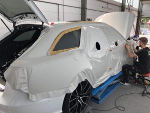 Audi RS6 Avant Kreide grau Vollfolierung