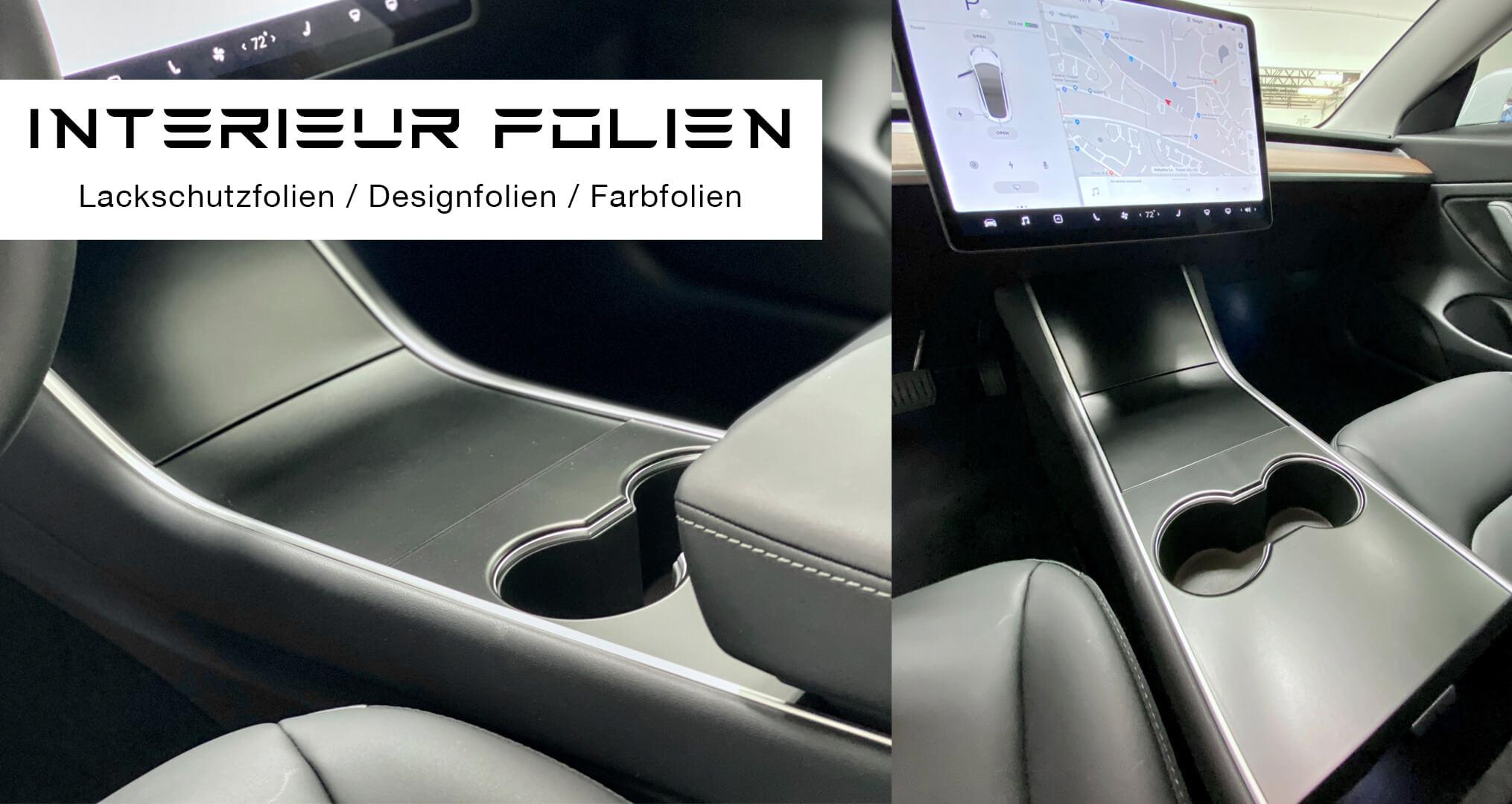 Tesla Auto folieren