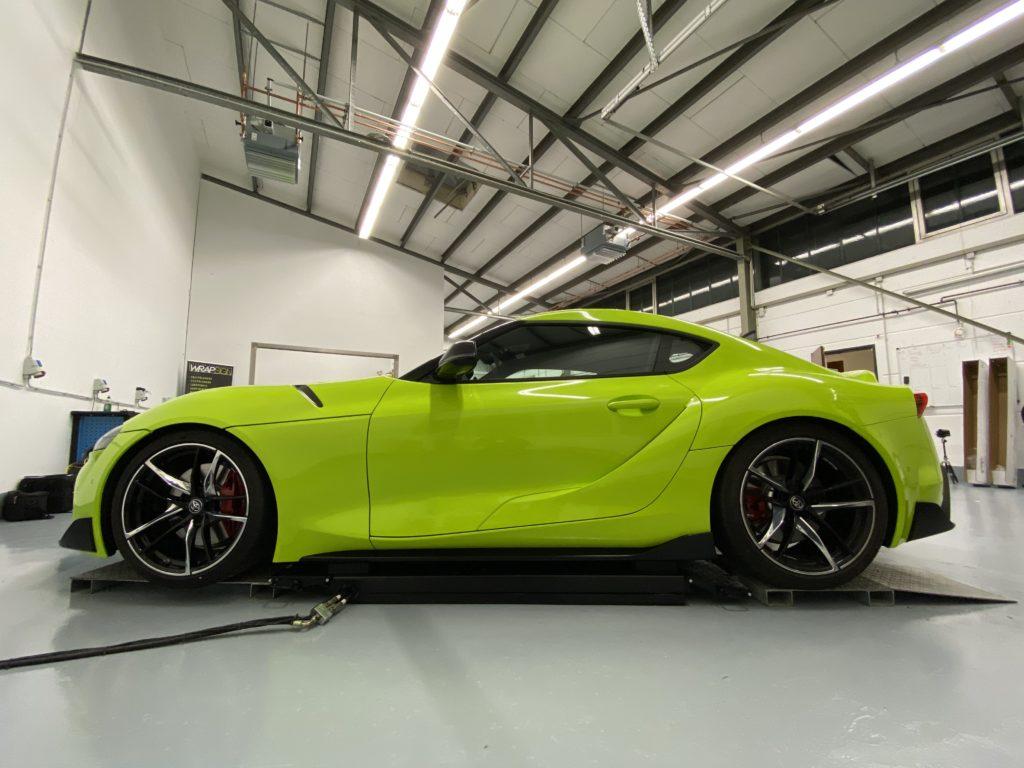 Toyota Supra Acid Green Design