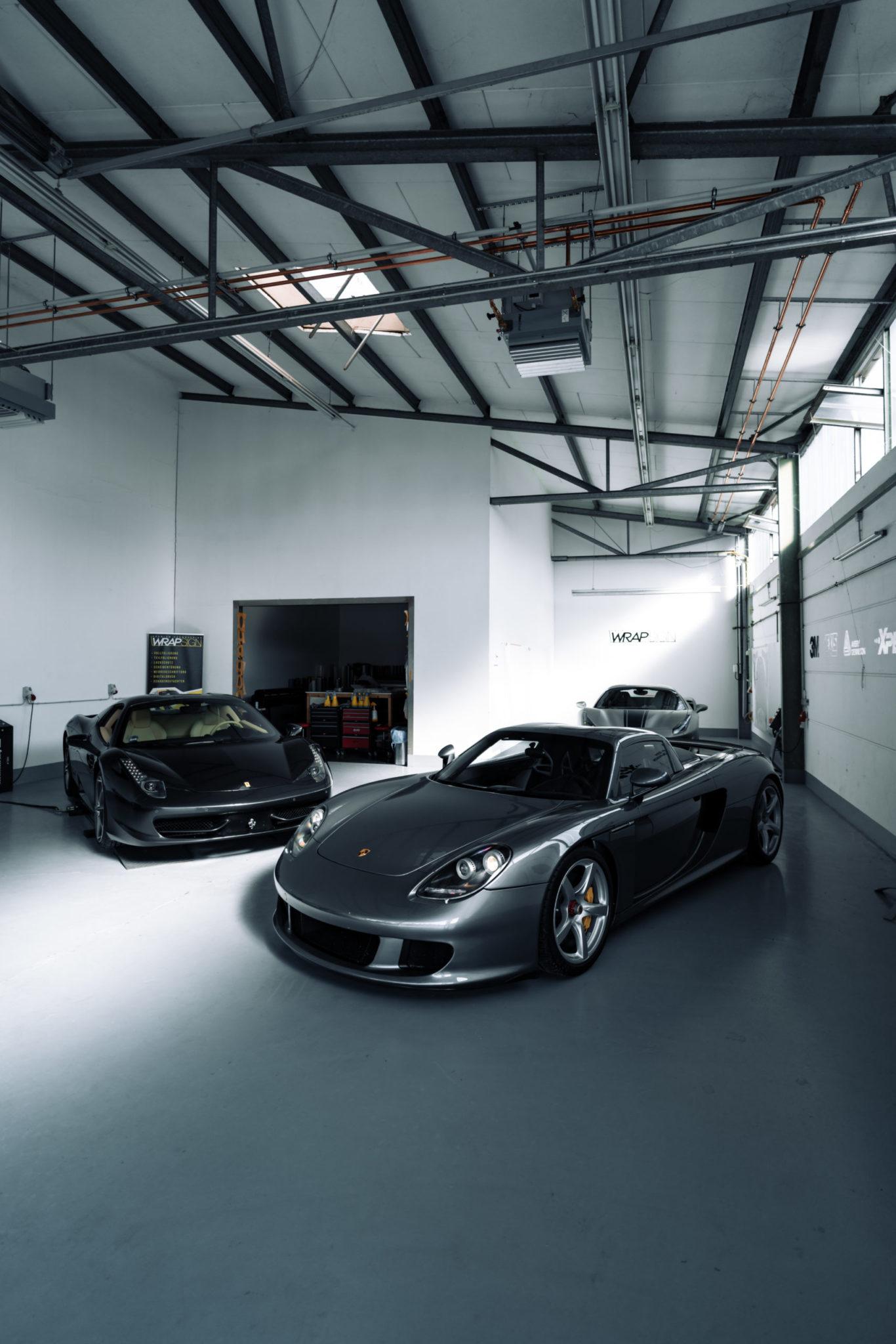 Porsche folieren