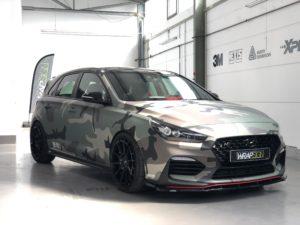 Hyundai i30N Camouflage Design