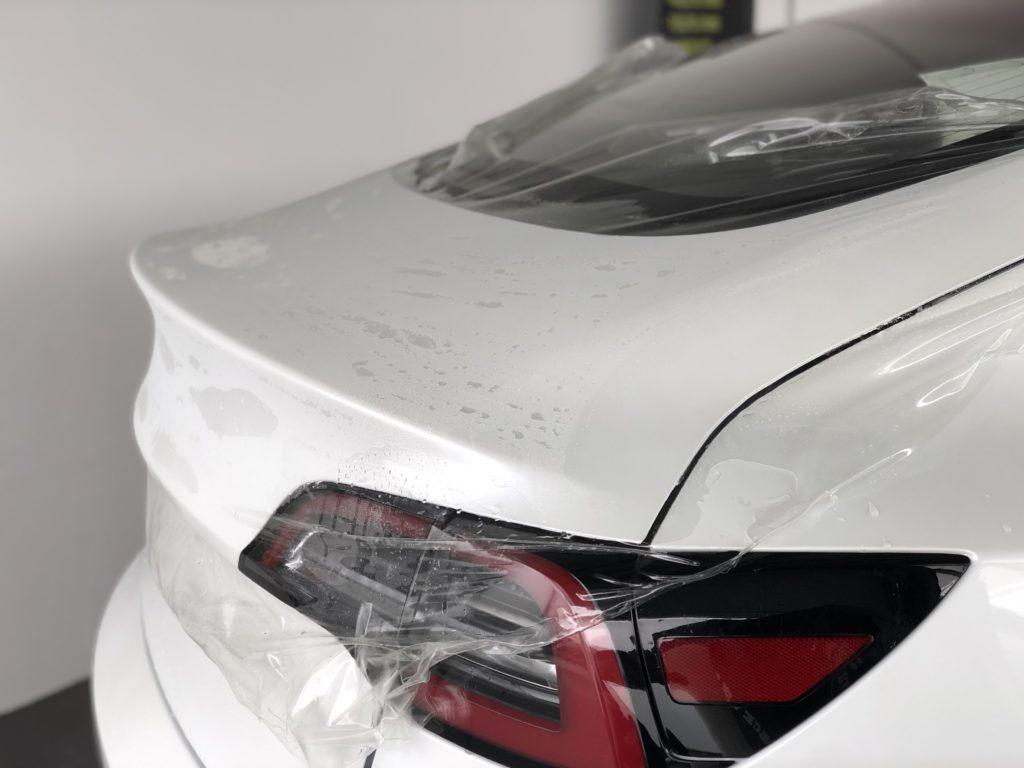 Lackschutz Tesla Model 3 Heck