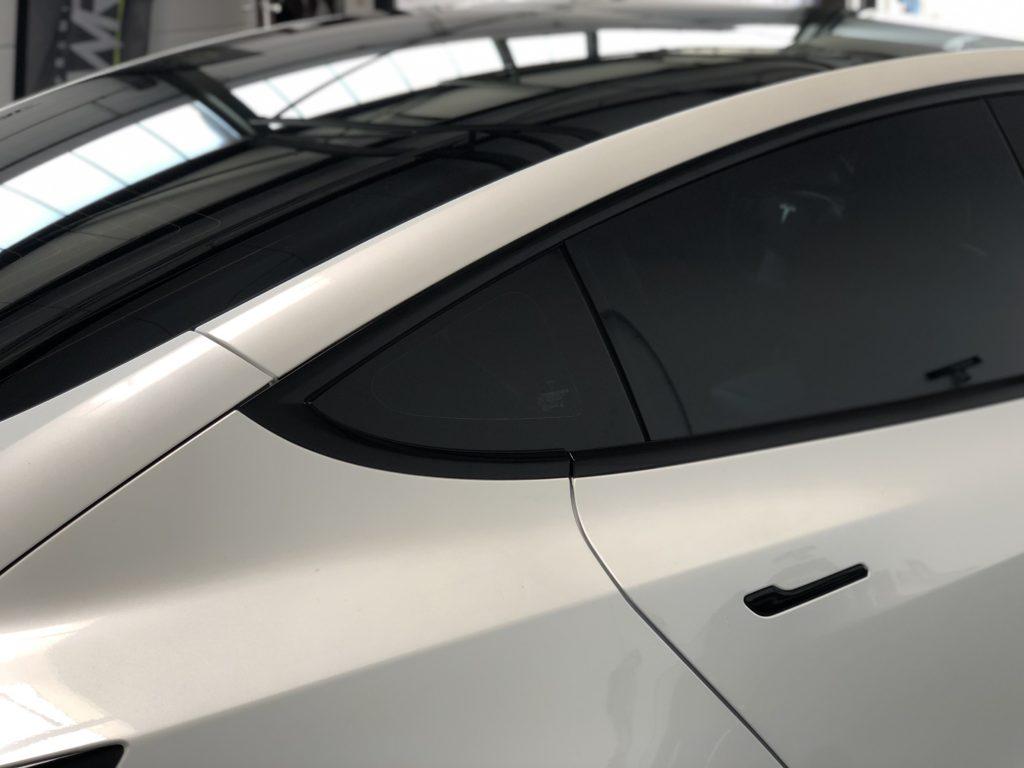Lackschutz Tesla Model 3 Seite