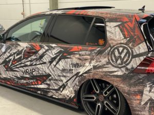 VW Golf 7 Design Folierung