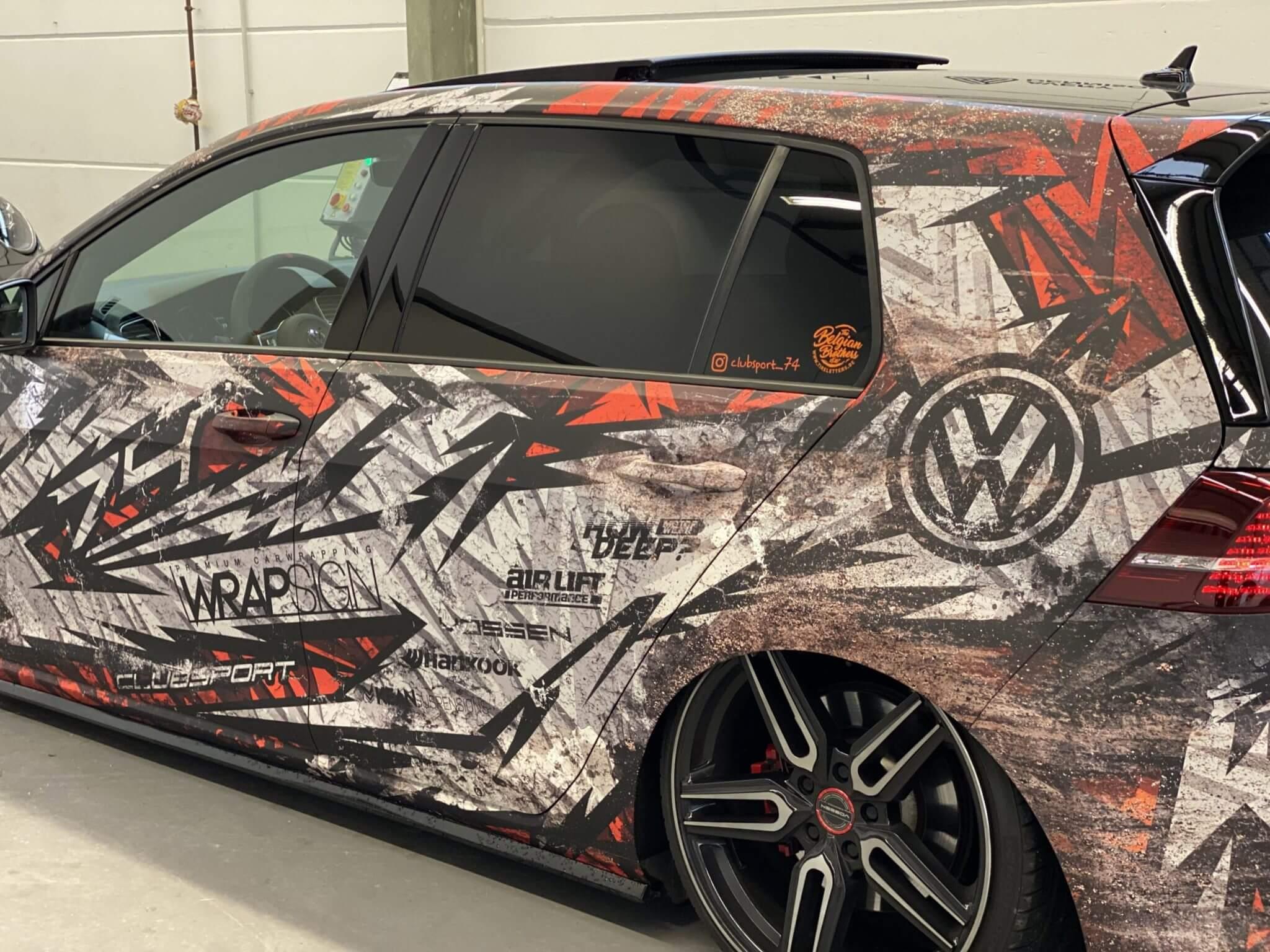 VW Golf 7 Design Folierung