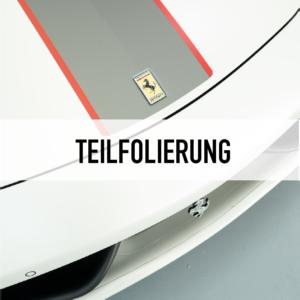 Teilfolierung Streifen Ferrari 458 Spider grau matt